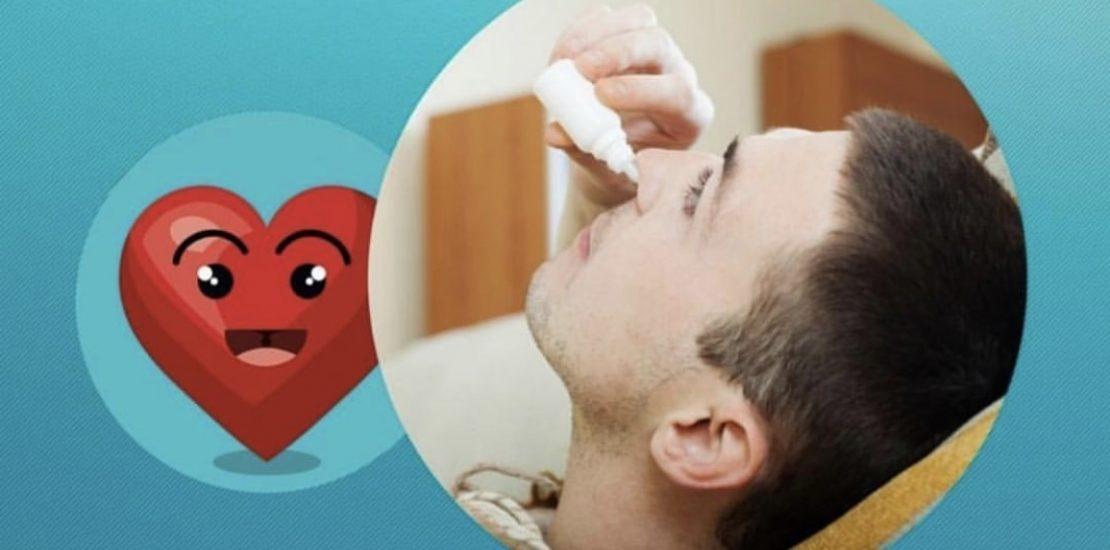 perigo das gotas nasais