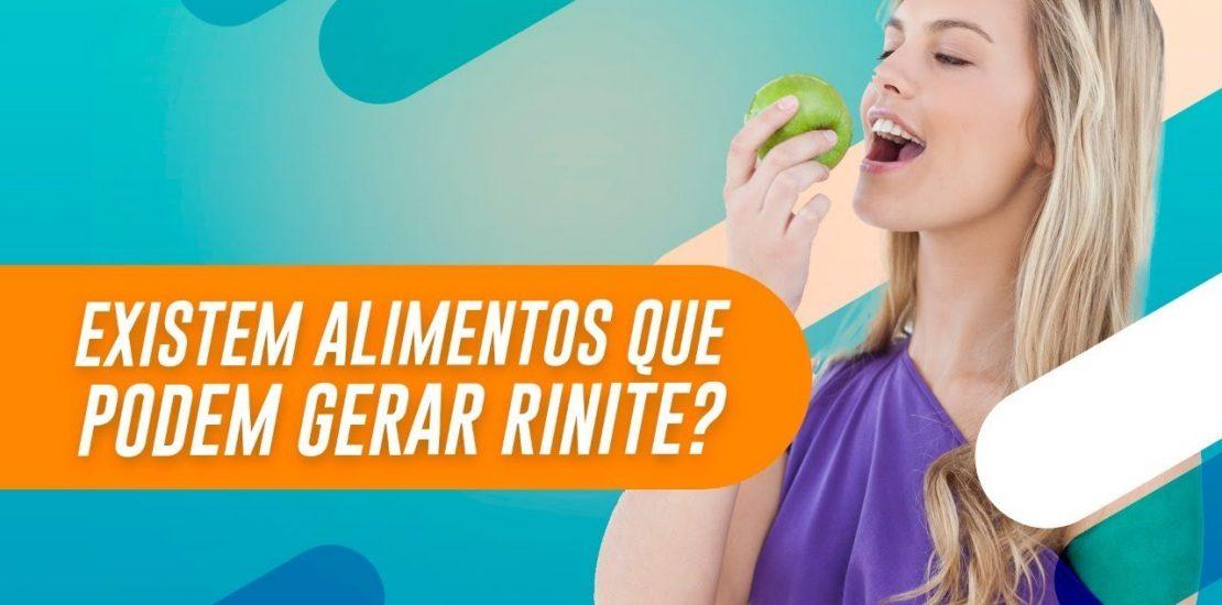 alimentos que provocam a rinite alérgica