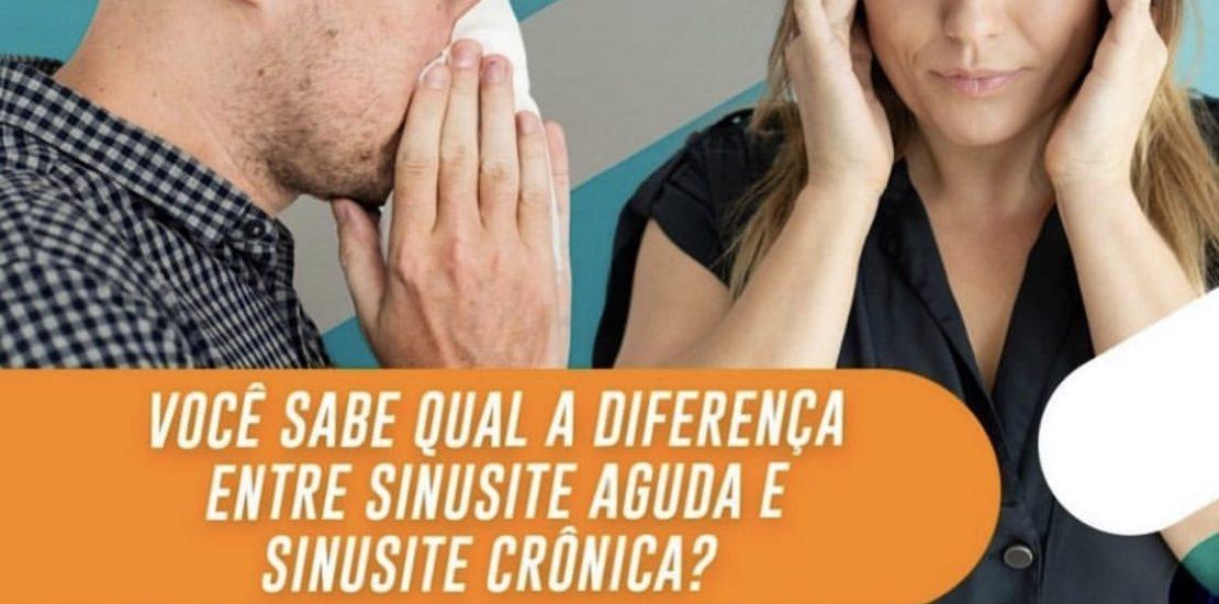 diferença entre sinusite aguda e sinusite crônica-min